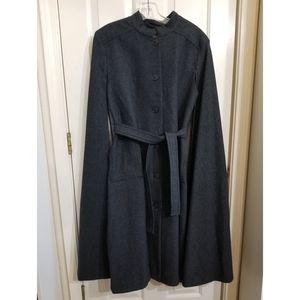 Rare Pendleton wool cape dress